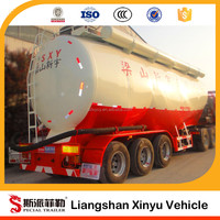 China low price widely used bulk cement trailer for sale