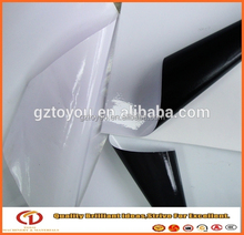 Printable 140gsm self adhesive glossy face car vinyl sticker