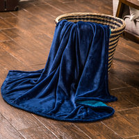 Customized one or two ply luxury travel blanket