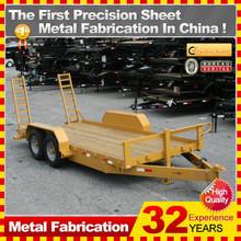 7x5 8x5 galvanized truck trailer with optional trailer box