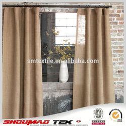 Wholesale 100% natural simple curtain design