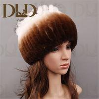 Colorful custom 100% rabbit fur hat jewish hat with big brim