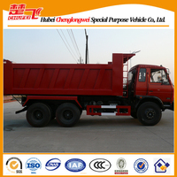 Dongfeng dump truck 6X4 240hp sand tipper second hand dump truck for sale