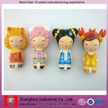 Japan cartoon anime female figurine toy, super lovely figure toy for decoration