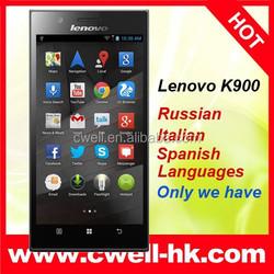 Original Lenovo K900 Intel Atom Powered 2.0GHz 5.5 Inch FHD Screen 2G RAM 16G ROM Android 4.2 Smart Phone Lenovo K900