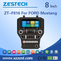 car stereo for Ford Mustang car audio player with buletooth gps Radio RDS