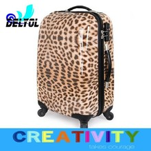 Factory outlet lady PC trolley luggage with universal wheels
