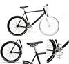 700C Hi-ten steel frame road bike fixie bicycle CE approved fixie bike fixed gear bike