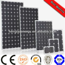 100W mono crystalline solar panel 12v solar panel, 1000w solar panel