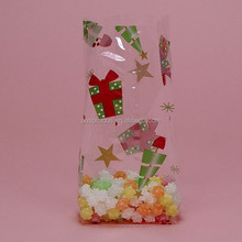 High quality printed decorative cello bags opp cello bag with gusset