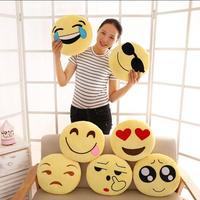 Factory Cheap Custom Plush Emoji Pillows