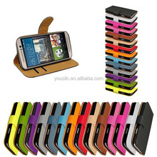 Colorful Flip Wallet Leather Cell Mobile Phone Cover Case For HTC ONE M9 M9 PLUS