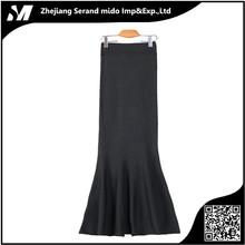 Nueva llegada de la manera superior de las mujeres elegantes de lana tradicional falda larga