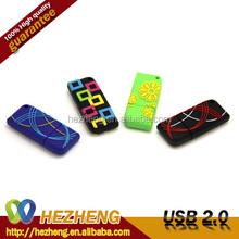 32GB Colorful Line Strips USB Flash Drive Original Rectangle U Disk