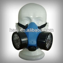 2015 half face gas mask military gas mask double filter gas mask half face gas mask with color box military gas mask for sales