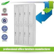 Customized ikea metal locker clothes storage cabinet with 8 door