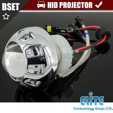 2.0 inches 35w 55w small universal motorcycle HID projector lens manufacture bi-xenon HID projector lens headlight