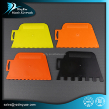 customize plastic adhesive spreader with notches for crevice wholesale