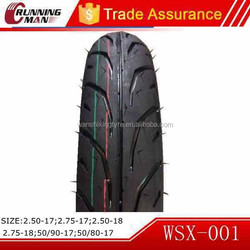 Motorcycle Tire to Philippines Made In China 110/80-17