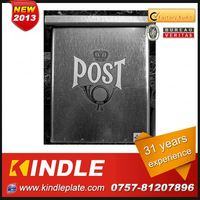 Kindle Professional waterproof cast mailbox newspaper box for sale with 31 years experience