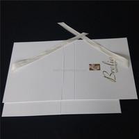 Hot sale girls sex swinwear bikini white folding box with cute ribbon bowknot
