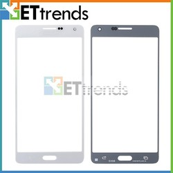 White Front Glass Screen Lens Cover for Samsung Galaxy A7