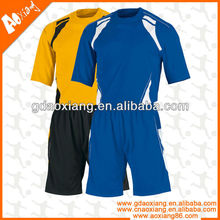 Guangzhou Breathable Strong quality Soccer team soccer shirt and short
