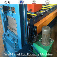 2015 Chinese latest style metal roof roll forming machine factory produce