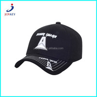 baseball cap sports cap type and cotton material sport black hats and caps