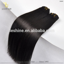 No Tangle No Shedding Top Quality Good Feedback Unprocessed wave human hair piece with security click