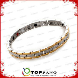 new 4 in 1 passion energy 316L stainless steel metal bracelet jewelry