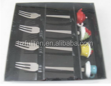 stainless steel tableware sets,cartoon fork and spoon