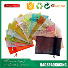 factory prices 3x4inch organza bags wholesale