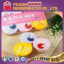 70g yummy box tray packing OEM promotional halal jelly