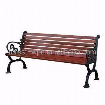 Wholesale Cheap Park Benches Wood Plastic Composite Park Bench Used Park Benches