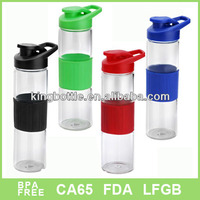 Christmas Fashional Silicone band sleeve design glass bottle