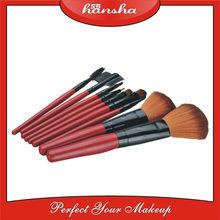 Red Color Make Up 9 PCS Brushes Kit Professional Set of Makeup Brush