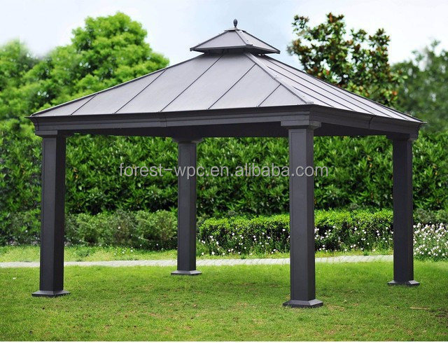 garten gemacht pavillon design polycarbonat dach pavillon. Black Bedroom Furniture Sets. Home Design Ideas