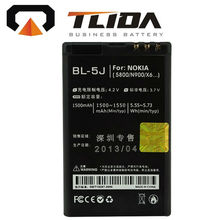 High quality with best price cell phone batteries for Nokia BL-5J