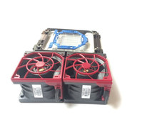 CPU cooler kit for HP ProLiant DL380 Gen9, one heatsink 747608-001 two cooling fan 747597--001