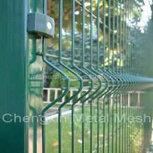 Welded wire garden fence/plastic fence