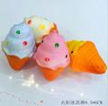 squishy kawaii mini antorcha dulce helado de postre llaveros para los regalos de promoción en venta
