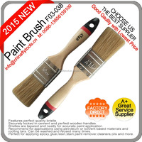 Wooden Handle and Excellent Grade Bristle Paint Brush