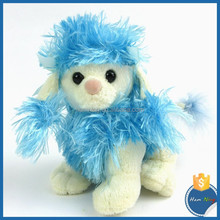 Best selling farm animal plush toy children toy fluffy love doll happy dog pet