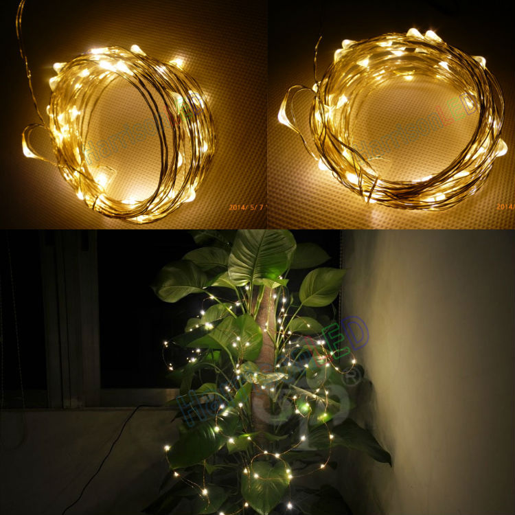 Led String Lights Dc : Christmas wedding holiday party copper silver wire DC 12V led string lights, View 12V led string ...