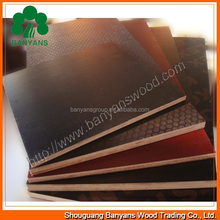 WBP black and brown film faced plywood finger joint 1220*2440 *18mm Marine brown/black film faced plywood cheap marine plywood