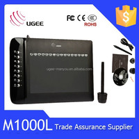 Ugee M1000L Graphic Tablet 10*6 Inch Drawing Tablet with Hotkey