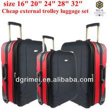 "Promotional styling external EVA trolley luggage size 16""20""24""28""32"""
