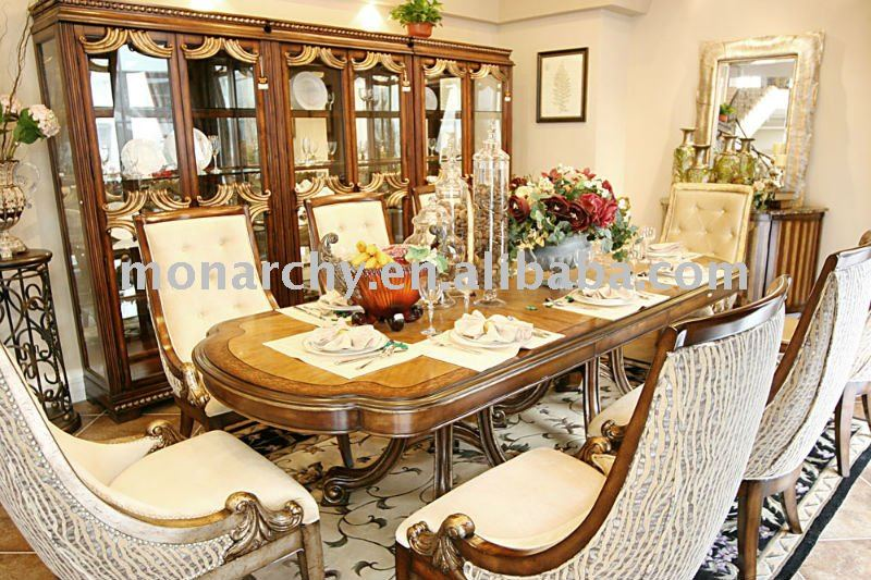 D0024 42 high quality solid wood antique cherry wood for High quality dining room furniture