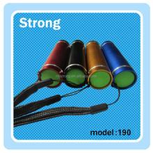 Camping new products 2015 novelty gift mini 1w led flashlight light
